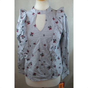 MOSSIMO SUPPLY Womens Peasant Top Blouse, Size XS